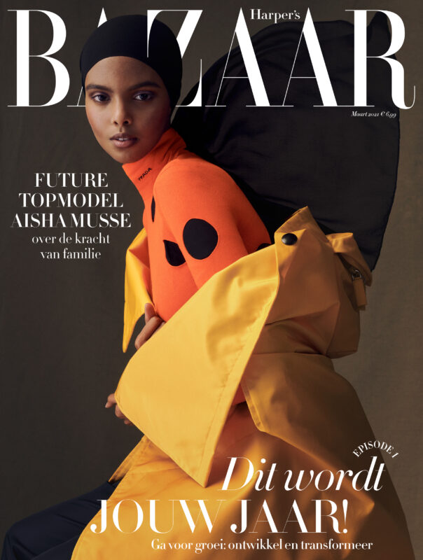 Aisha for Harper's Bazaar NL
