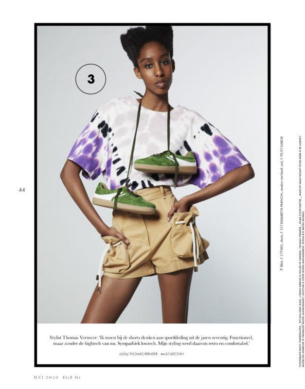 Latoyah for Elle NL